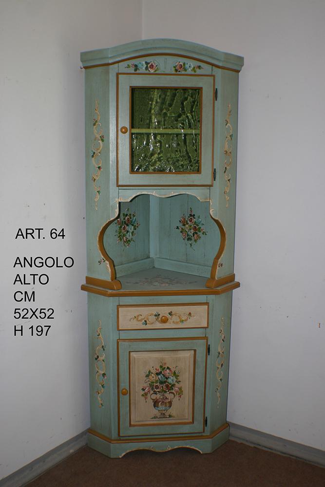 Angoliere decorate a mano di Artigianato Trentino